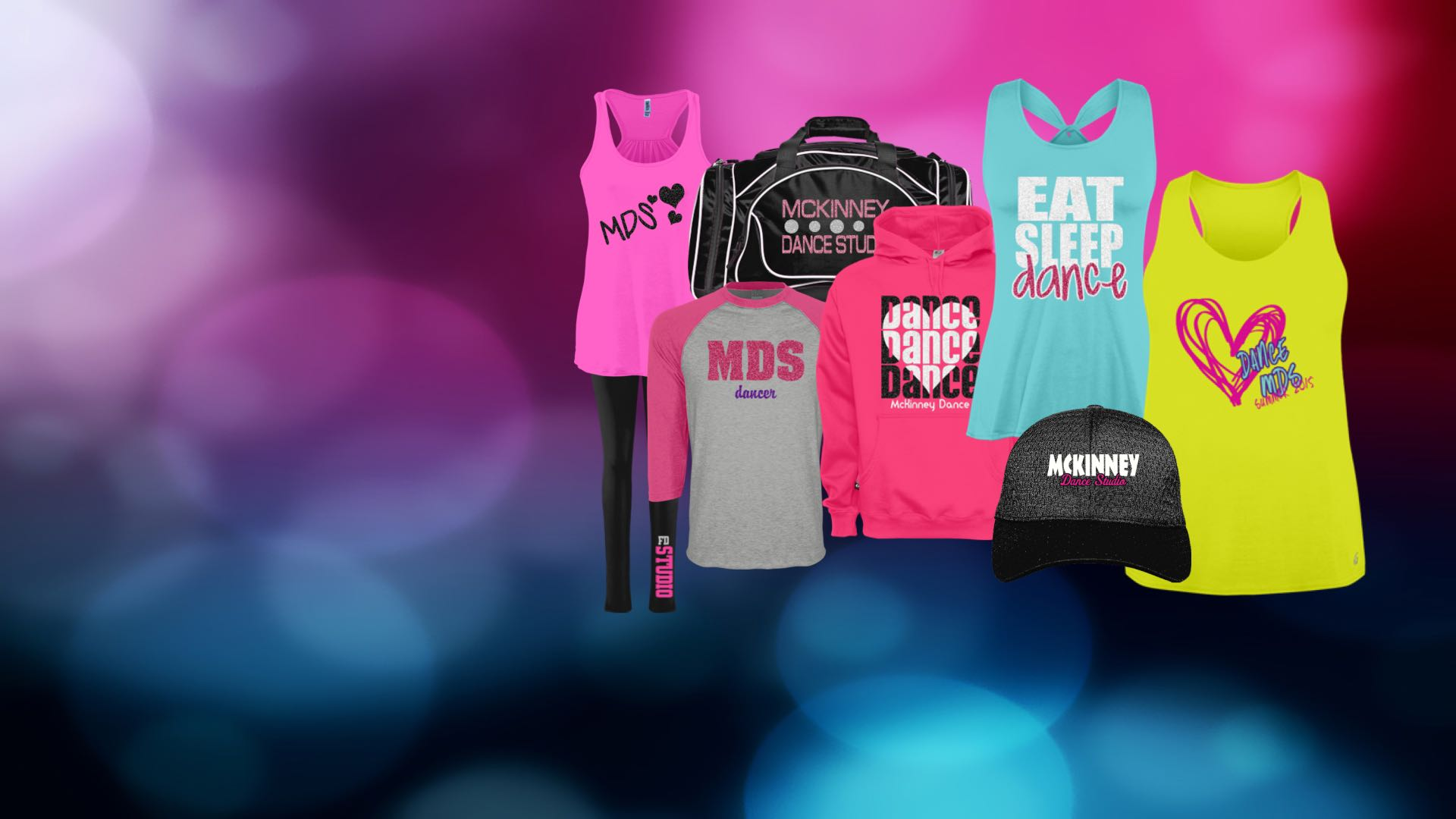 GET YOUR DANCE WEAR HERE!